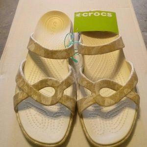New croc sandals
